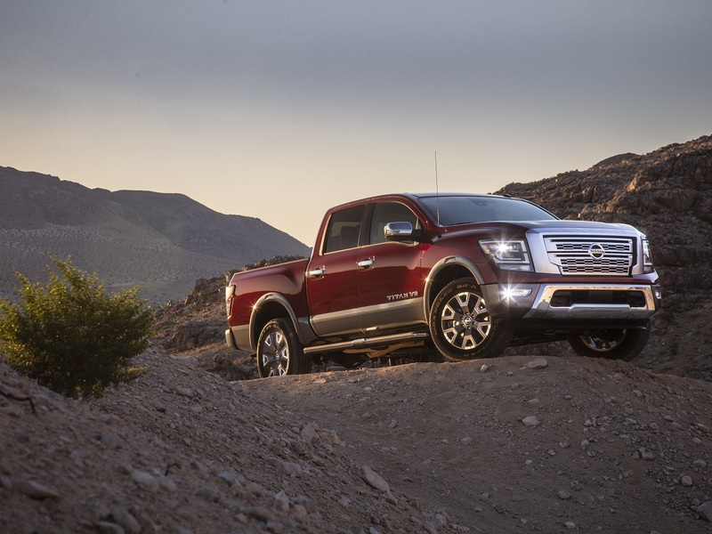 This latest redesign proves Nissan isn't giving up on the Titan. (image: Nissan)