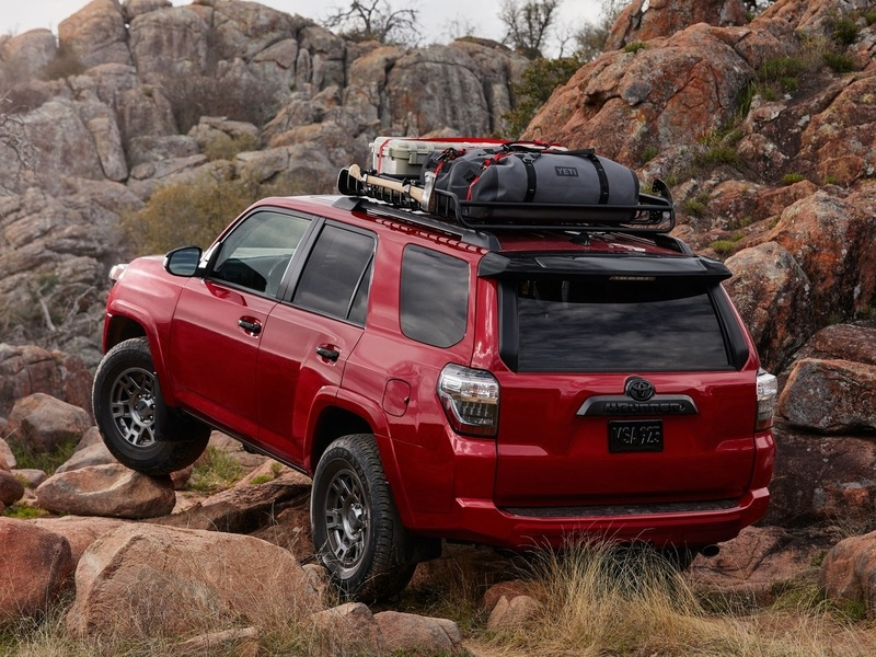 This is the 4Runner's natural environment, and it's great at it.