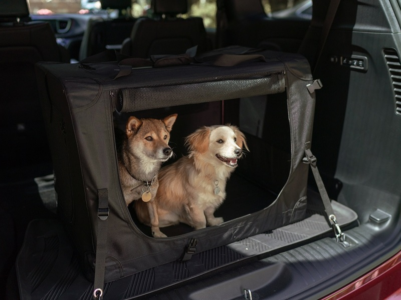 Mopar designed a kennel just for the Chrysler Pacifica and your furry passengers.