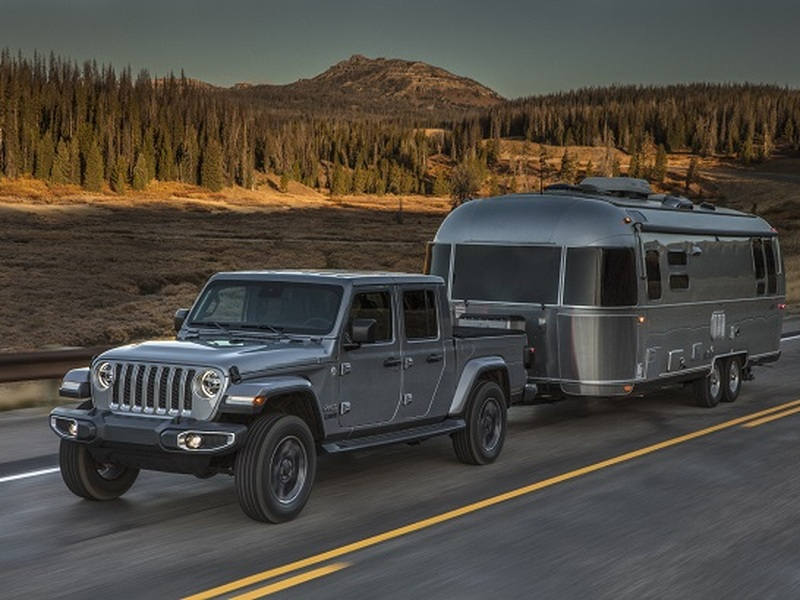 The off-road capable Jeep Gladiator is the ultimate camping-mobile.