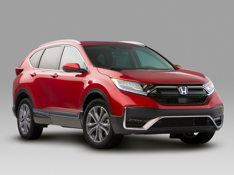 You'll have to wait until spring 2020 to get your hands on the new CR-V Hybrid. (images: Honda)