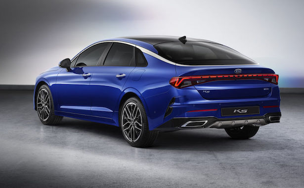 2021 kia optima blue