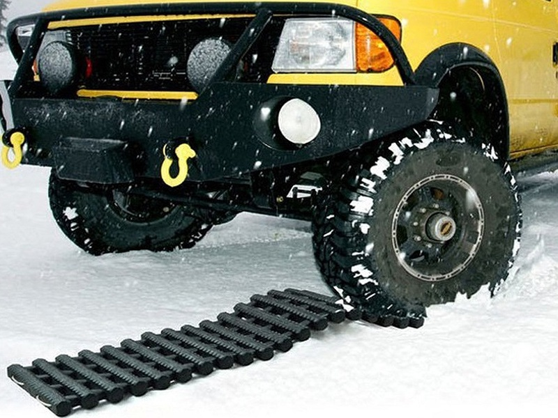 Stop spinning your wheels with these car traction mats for snow, mud or sand.