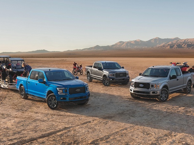 Ford's F-Series clinches the #1 spot for units sold this year. (image: Ford)