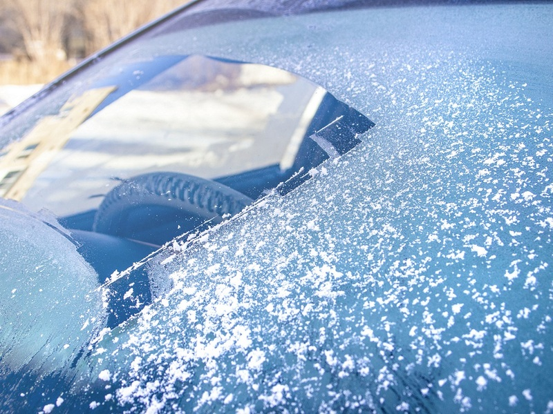 Speed up this painful process with an effective windshield de-icer.
