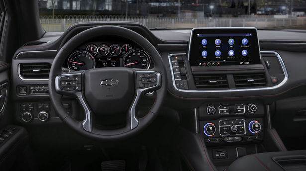 tahoe rs infotainment