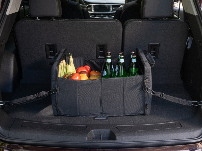 The Buick Enclave won't make you choose between passengers and groceries.