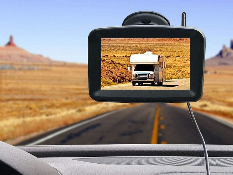 These affordable backup cameras can be installed in any vehicle in minutes.
