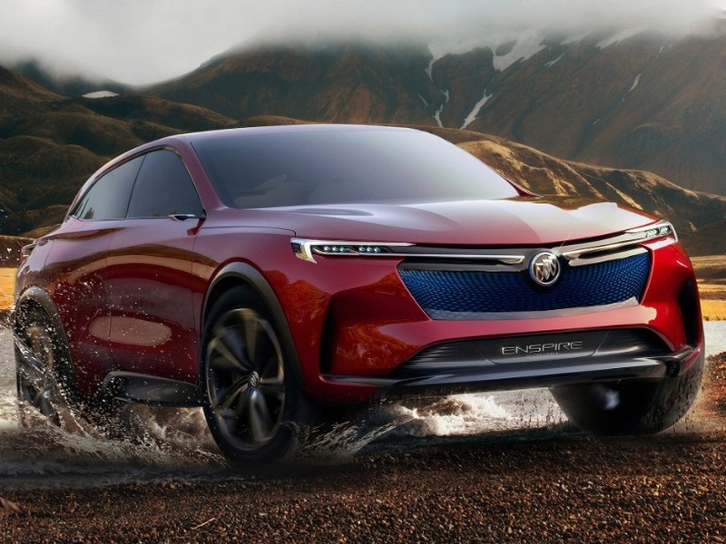 Buick could've used something like the Enspire Concept years ago.