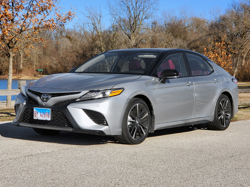 The Camry XSE checked nearly every box on our list of roadtrip-friendly features.