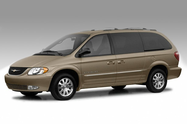 2004 chrysler town and country gold awd