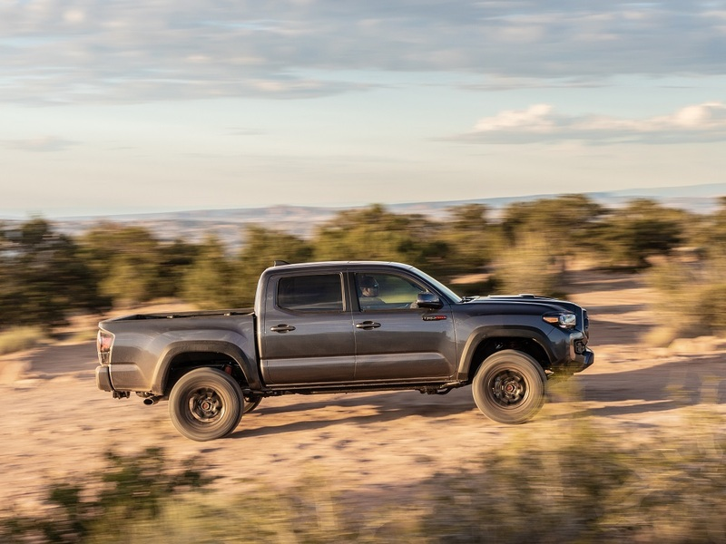 The Tacoma is seriously running away with the victory.
