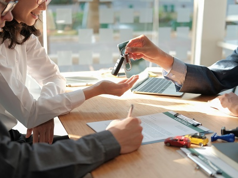 A cosigner can help you get a car loan even with subprime credit.