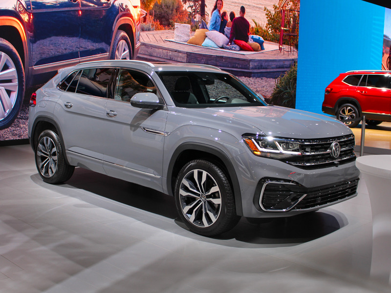 The new VW Atlas Cross Sport packs all the style of the Atlas into a 2-row package.