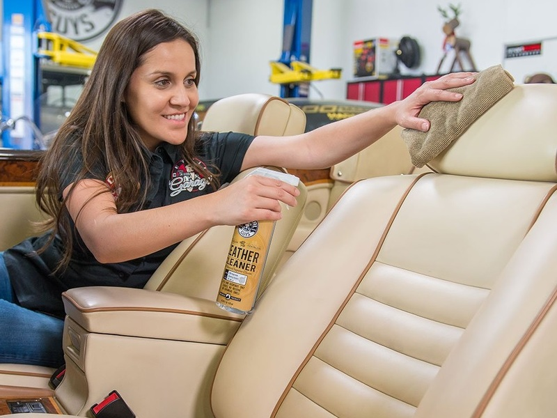 Learn how to clean your leather car seats like the pros.
