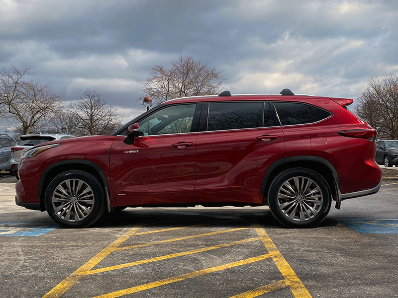Will the new Highlander beat its 9% of market share from 2019?