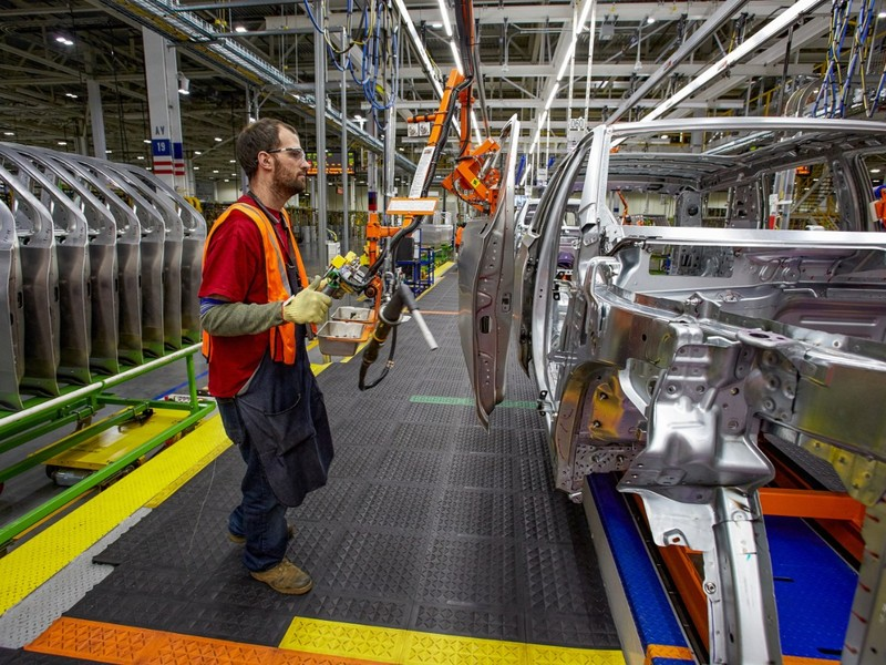 GM joins Ford and FCA in closing North American factories like the Arlington assembly plant.