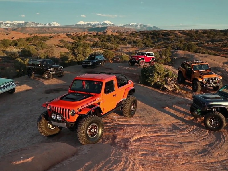 Everything, including ruggedly modded Jeeps, have come to a standstill.