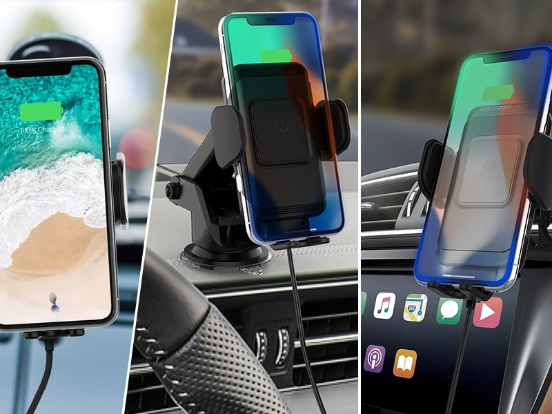No built-in wireless car charger? There's an easy fix.