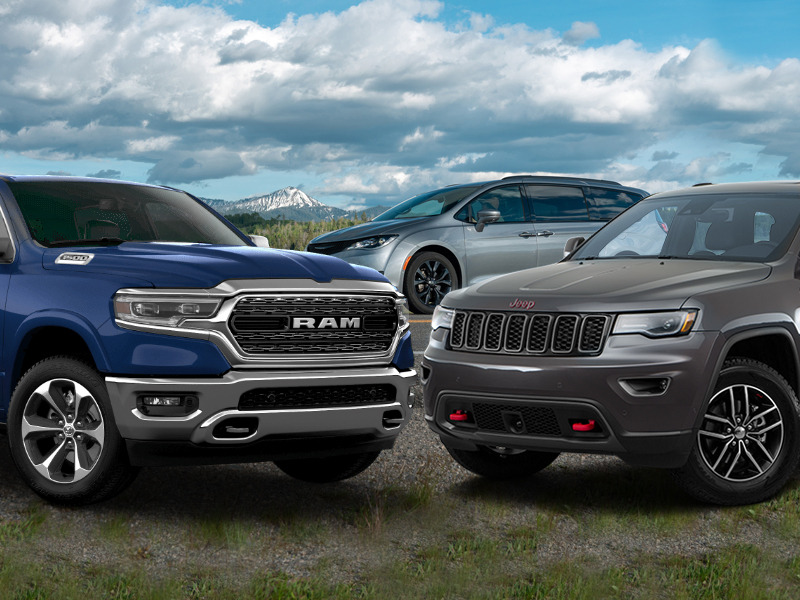 FCA's Ram Trucks, Chrysler Pacifica, and Jeep Grand Cherokee win big.