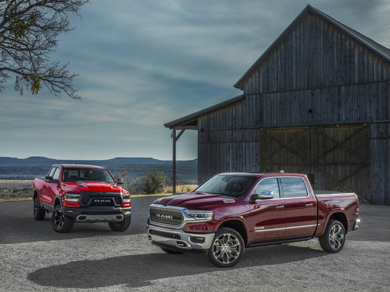 Despite a grim first quarter, trucks like the RAM 1500 continue to sell.