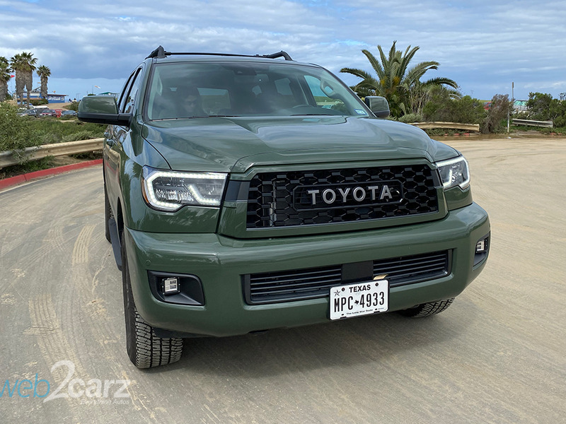 The Sequoia TRD Pro is pretty much the opposite of a Prius.
