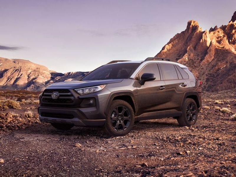 Toyota even offers the RAV4 with an awesome TRD Off-Road Package.