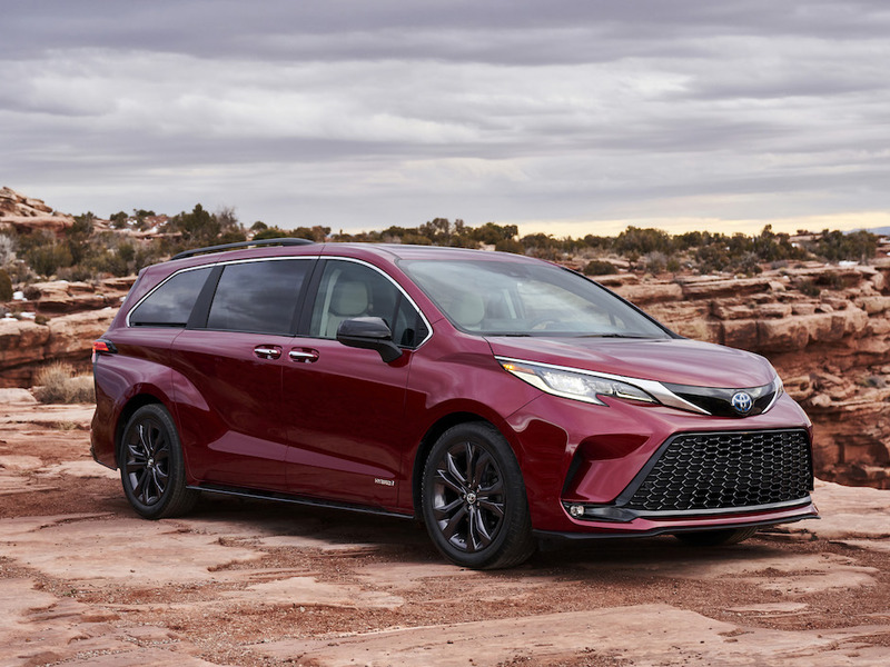 Yes, we can honestly call the new Sienna sexy. There, we said it.