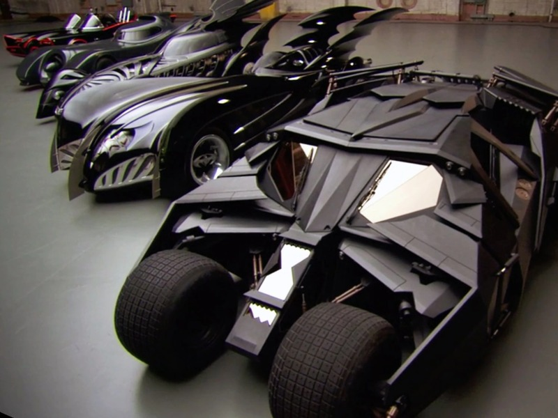 Which one in Batman's garage is your favorite?