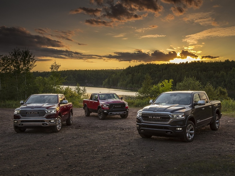 Trucks like the Ram 1500 continued to sell, even during a global pandemic. (image: FCA)