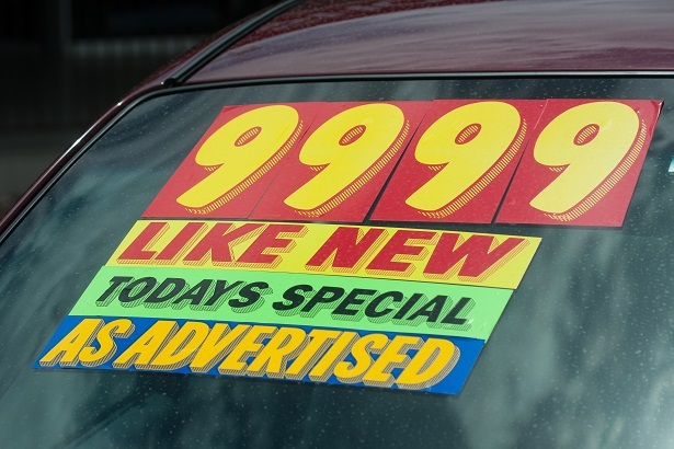 affordable used car for bad credit