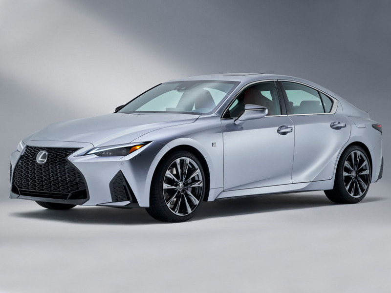 The best-looking Lexus IS to date. We'll see what it's like to drive.