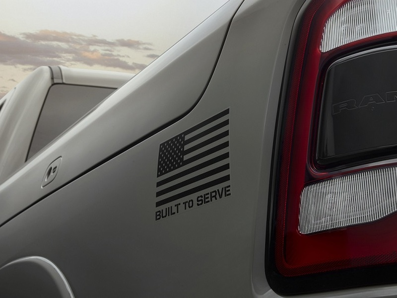 All 5 branches of the military will be honored with a special edition Ram 1500.