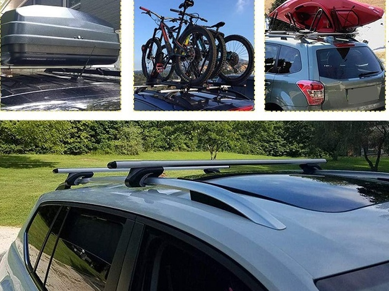 Add cross bars to your vehicle's roof and be ready for any upcoming adventure.