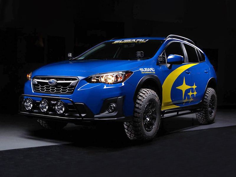 A Crosstrek we'd love to own and get seriously muddy.