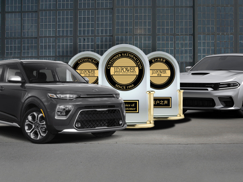 Kia is a long-standing winner in this study, but it's a first for Dodge.