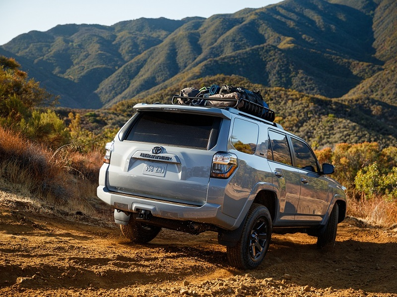 The new Trail Edition gives the Toyota 4Runner even more adventure appeal. (images: Toyota)