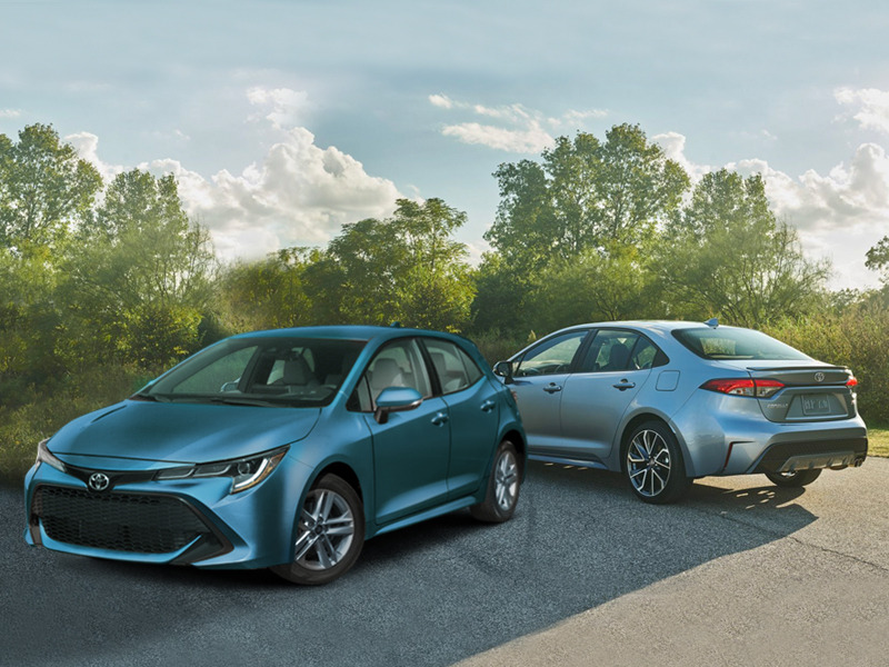 Can't decide between the Toyota Corolla hatchback or sedan? We can help.