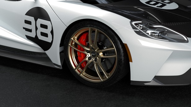 Ford GT Heritage Edition Wheel