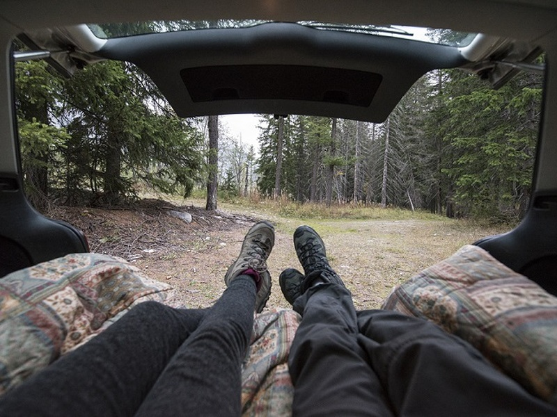 Elevate your camping experience with a high quality car sleeping pad.