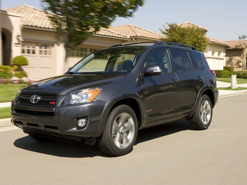 A new Toyota RAV4 sets you back over $25K, while a 2012 model can be had for under $10K. (image: Toyota)