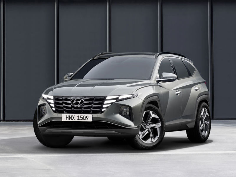 The new Tucson's design is complex and eye-catching.