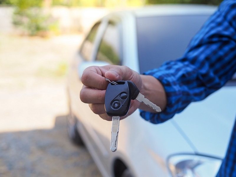 Think twice before handing over the keys if you still owe money on your car.