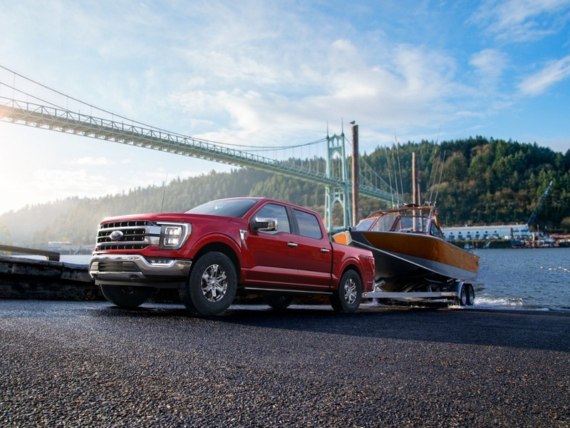 The 2021 Ford F-150 is designed around its customer's toughest demands. (images: Ford)