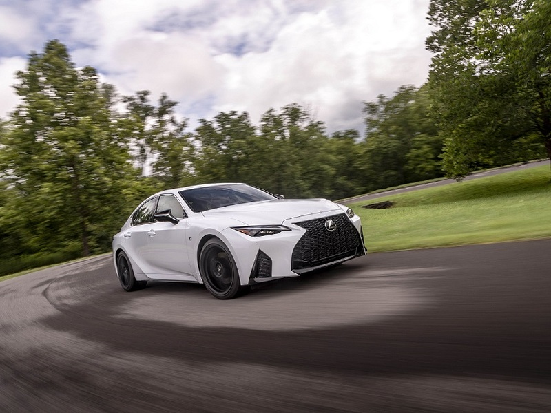 Brand new test track, styling, and tech culminate in the best Lexus IS to date. (images: Lexus)