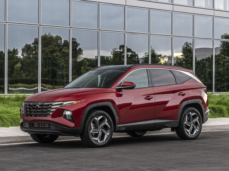 Hyundai's designs are about as edgy as any we've seen.