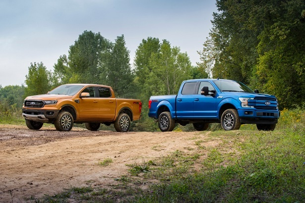Ford F150 and Ranger