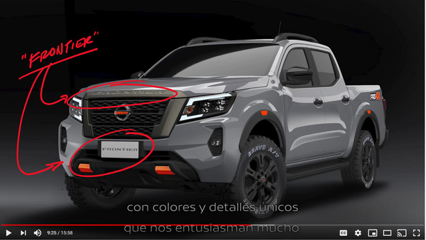 nissan frontier mexico