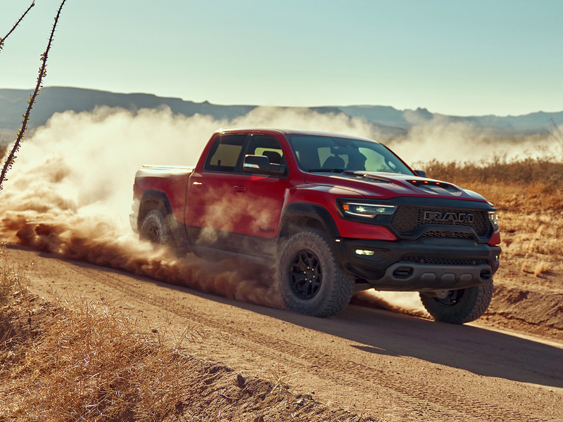 The Ram 1500 TRX leaves literally everything else in the dust.