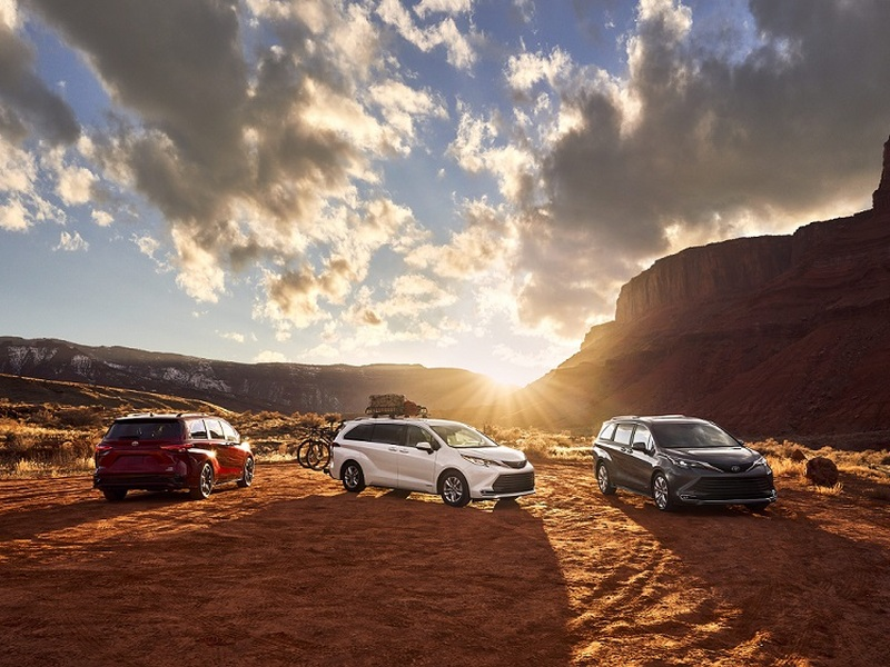 The 2021 Toyota Sienna with AWD takes the minivan to new heights. (image: Toyota)